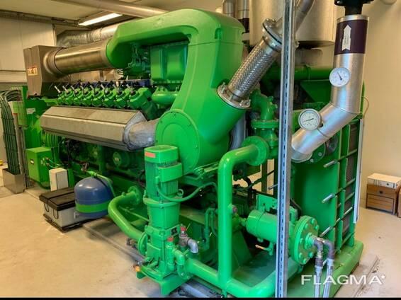 Б/У газовый двигатель Jenbacher JGS420 GSNL,1412 Квт,2005 г.