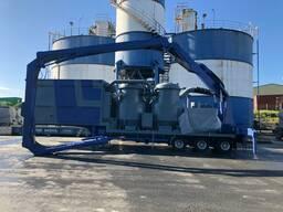 Б/У мобильная система Корабельной перегрузки цемента 300 т