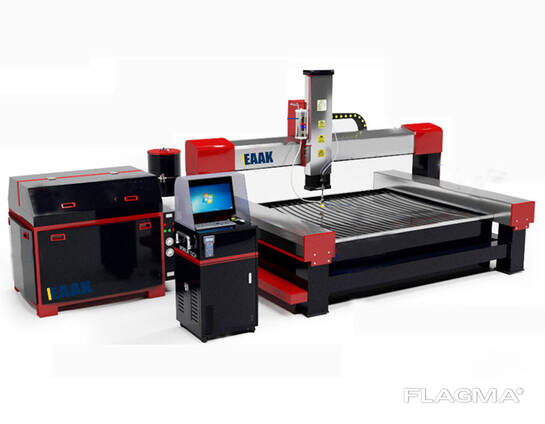 cheap cnc water jet cutting machine for metal glass