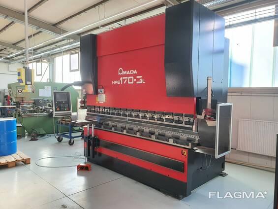 CNC bending machine. Hydraulic press brake Amada 170-3