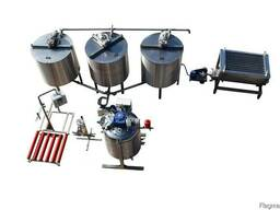 Honey processing line