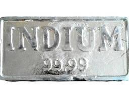 Indium ingot | metaal indium handelsmerk InOO GOST 10297-94
