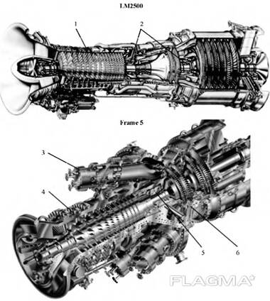 Buy parts for gas turbine Ruston (SGT-200)