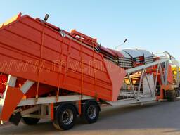 MVS 60MS 60m3/hour Mobile Concrete Batching Plant - photo 1
