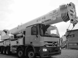The mobileCrane TEREX 5300/2013 on MB 100T