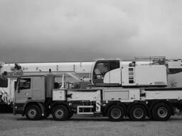 The mobileCrane TEREX 5300/2013 on MB 100T - photo 4