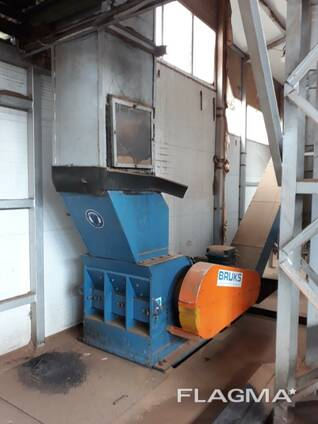 Used woodworking line